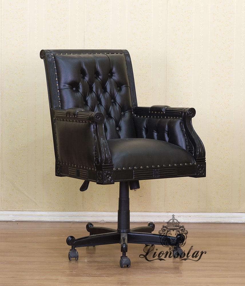 Gothic Bürostuhl Black