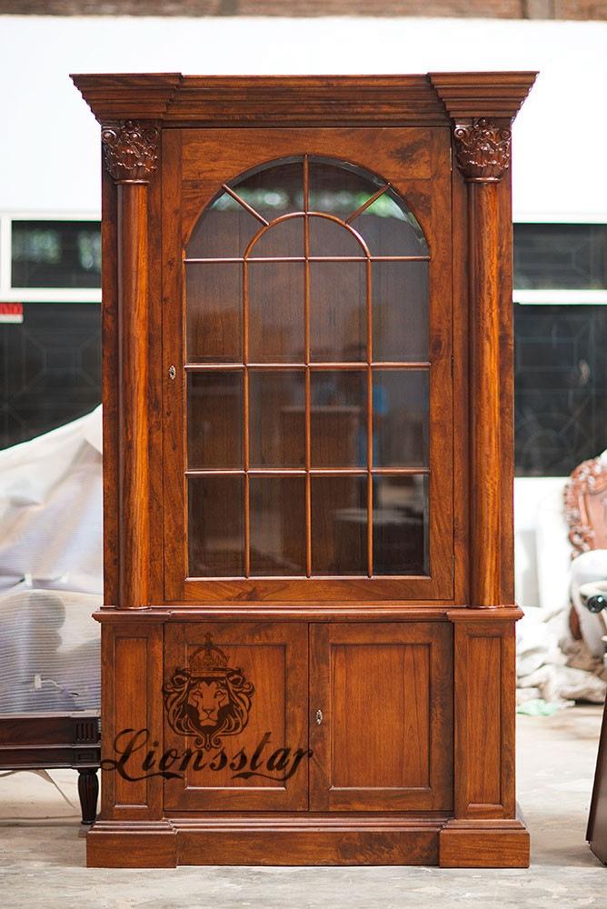 Louis XVI Bücherschrank Braun