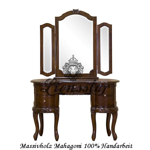 Spiegelkommode Barock Mahagoni Holz Sk.144