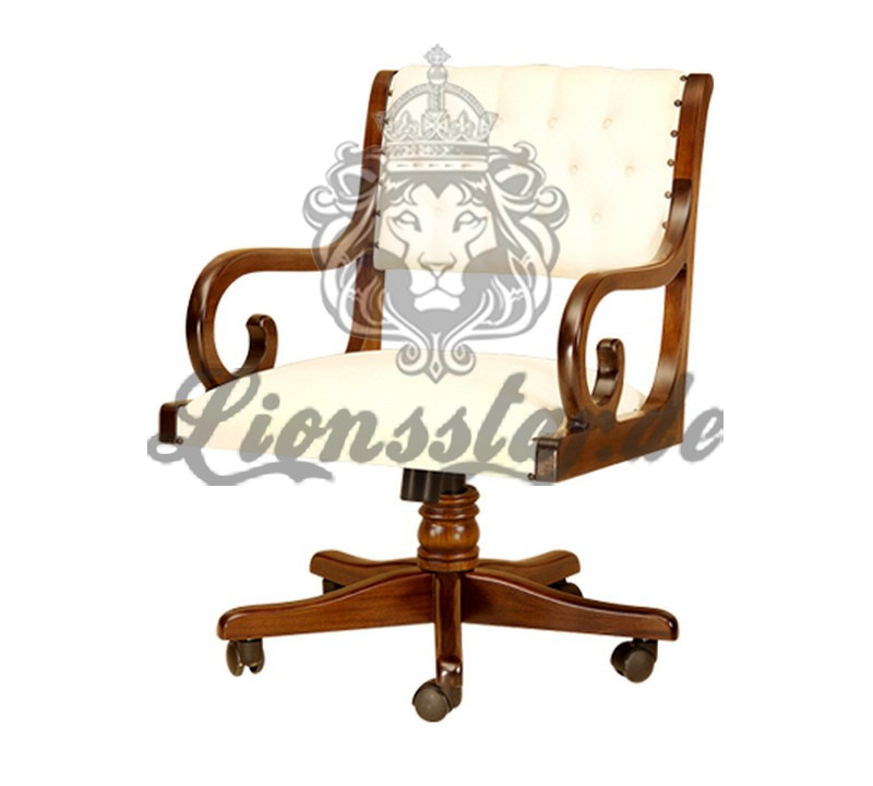 Chefsessel Bürostuhl Kolonial