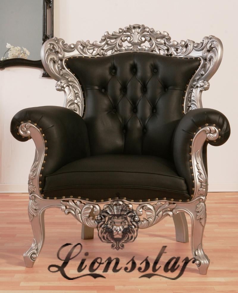Sessel im Barockstil