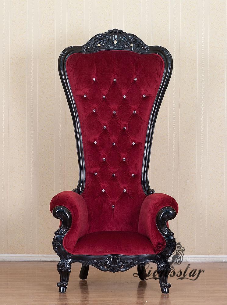 King Chair Rot Kolonial