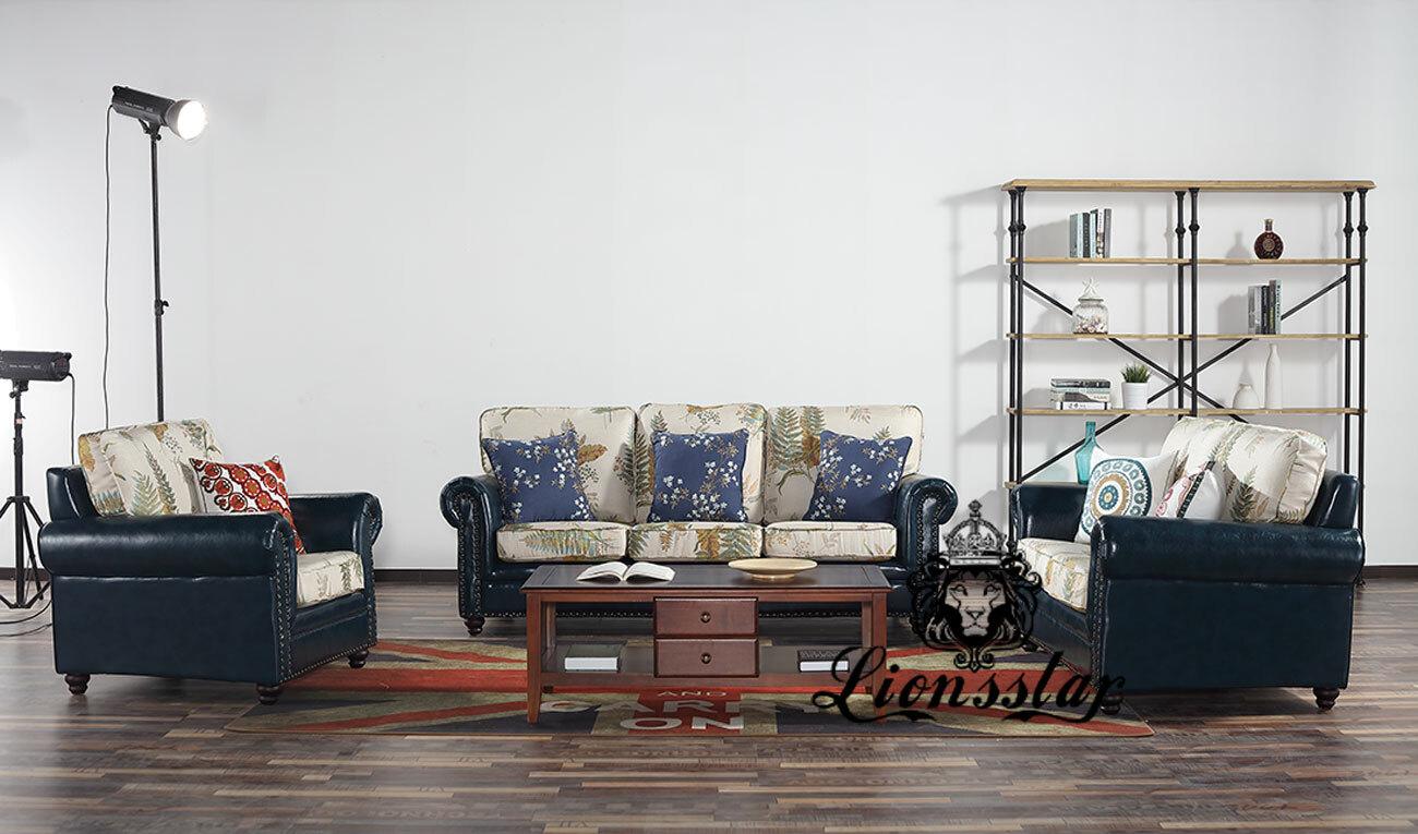 Designer Sofa Set Mixed Flower
