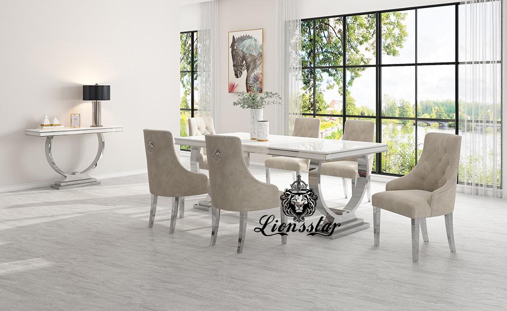 Luxus Esstisch Set Loft Design