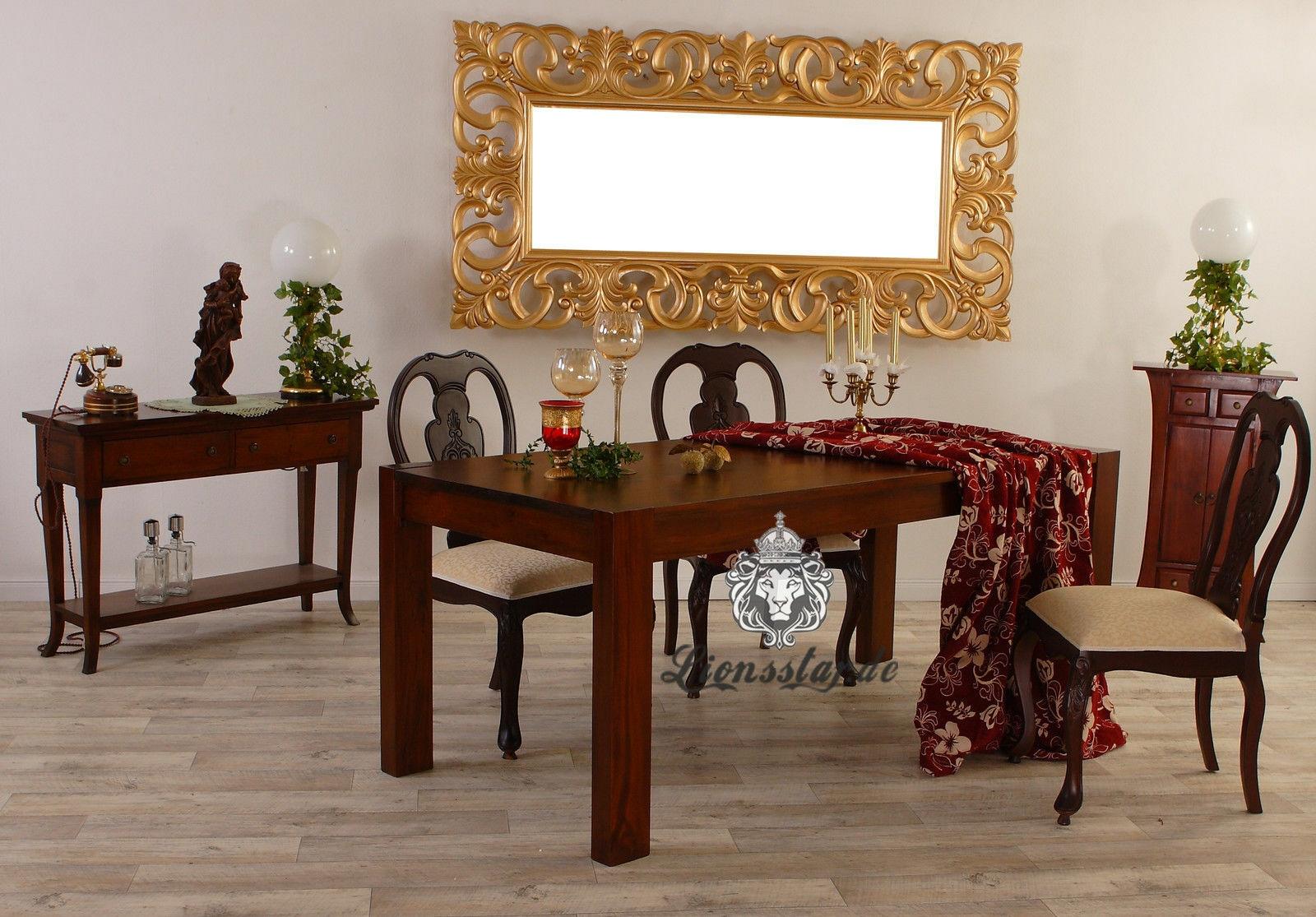 Luxus Spiegel Gold