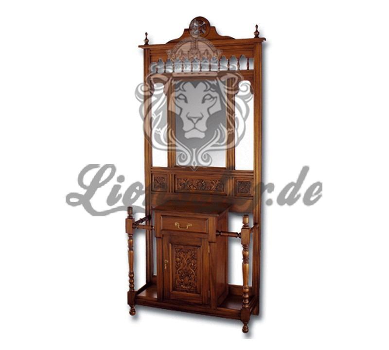 Spiegelkommode Barock Mahagoni Holz Sk.180