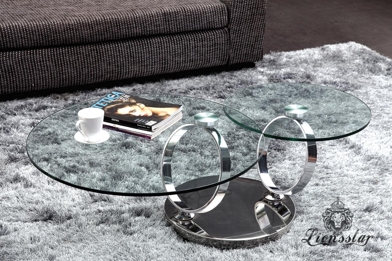 Designercouchtisch Glas