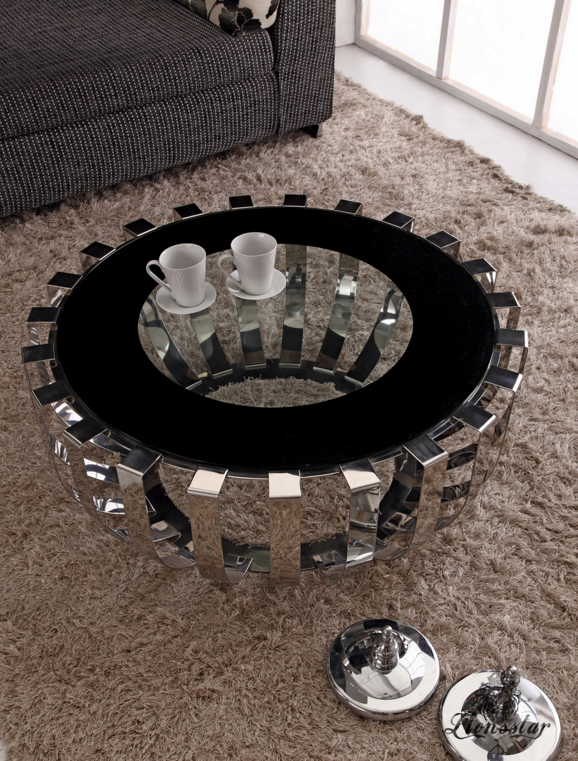 Couchtisch Modern Rings