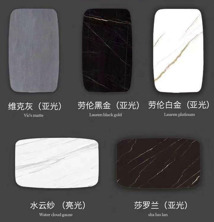 Luxus Designer Esstisch Black Steel