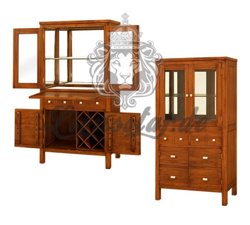 Spiegelkommode Barock Mahagoni Holz Sk.189