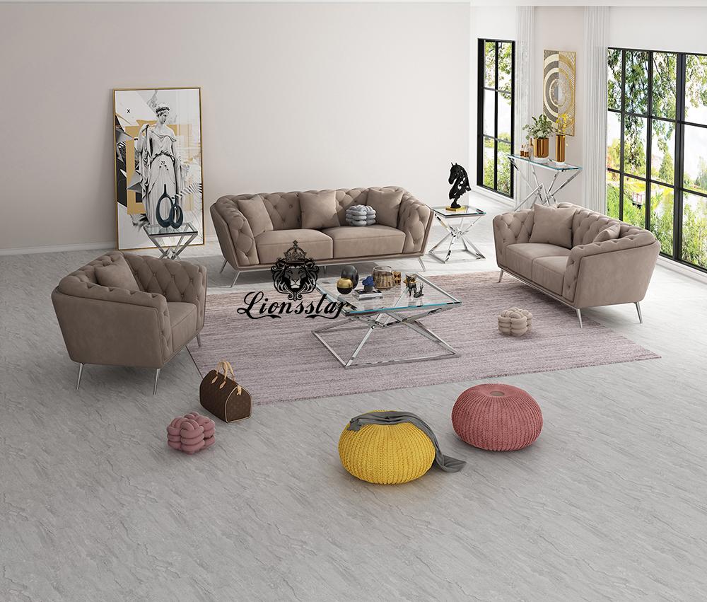 Luxus Design Couchgarnitur Rialto
