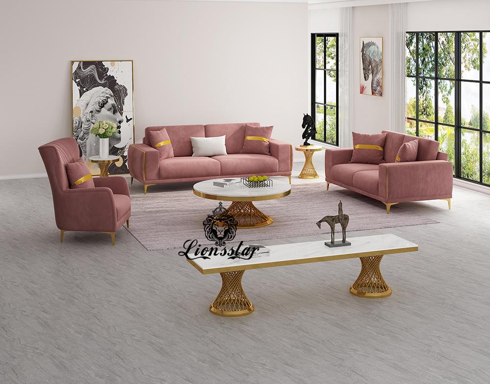 Designer Sofa Set mit Grandfather Chair