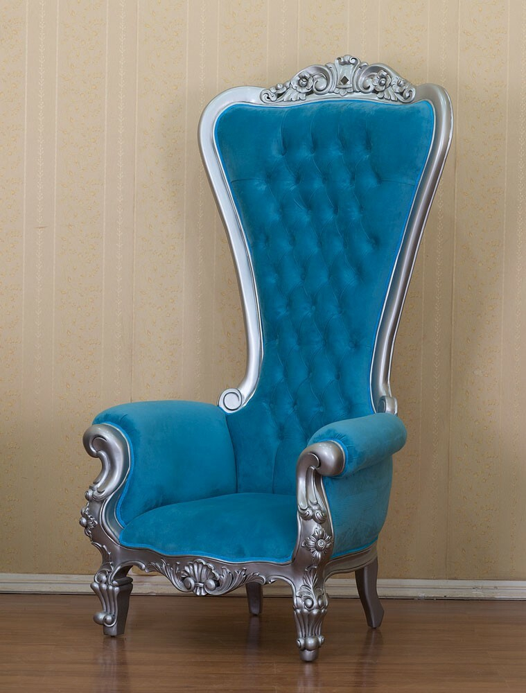 King Chair Klassisch Türkis