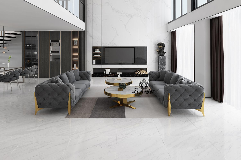 Luxus Design Sofa Set Clouds III