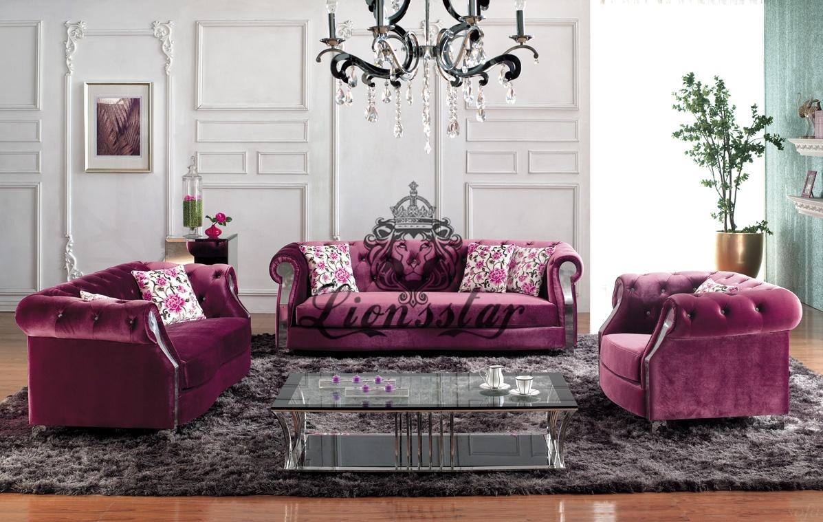 Exklusives Sofa Purpur