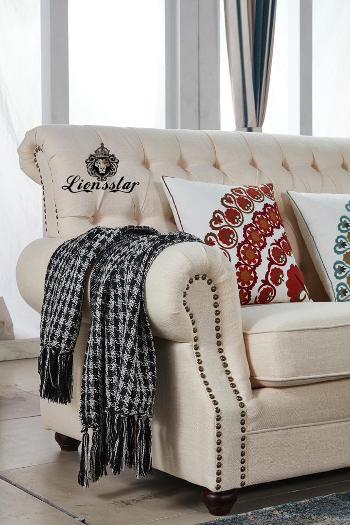 Elegantes Luxus Sofa Set France Creme