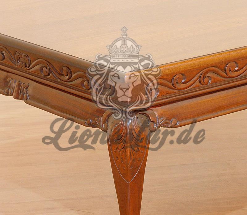 Couchtisch Barock Mahagoni Holz C.144