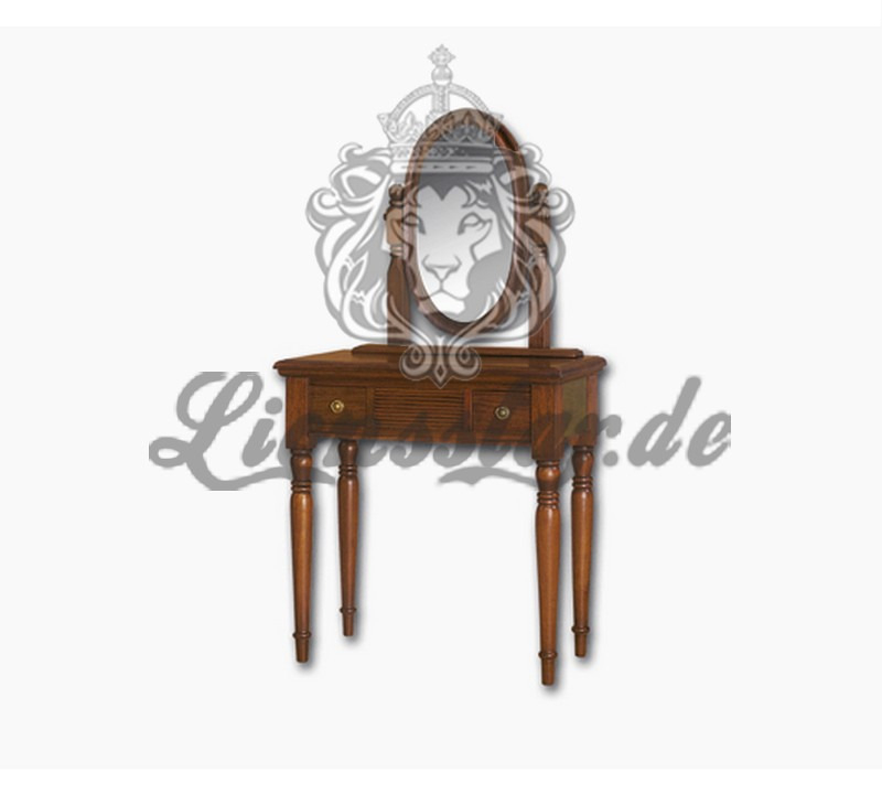 Spiegelkommode Barock Mahagoni Holz Sk.205