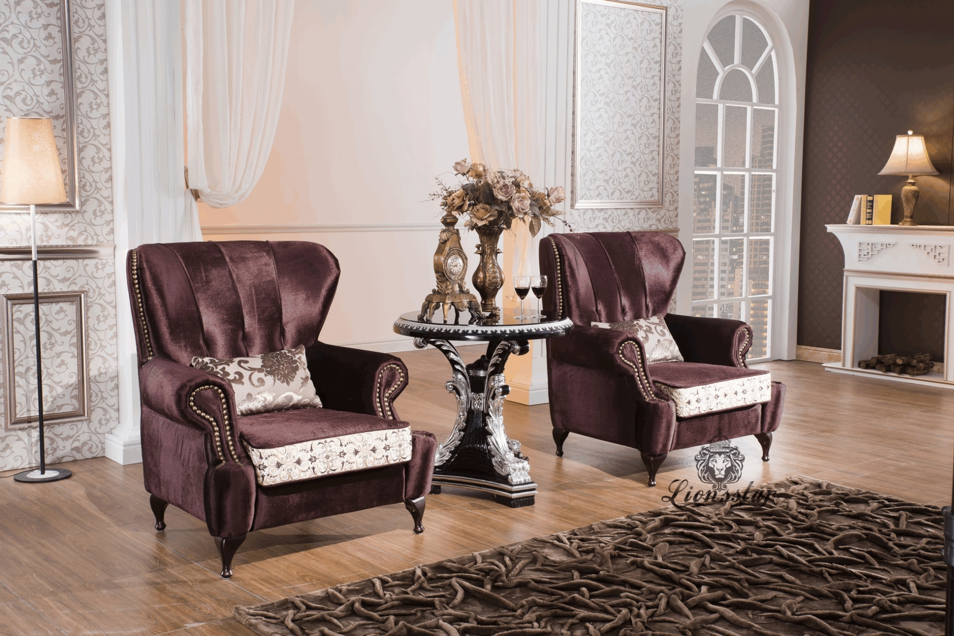 wohnzimmer m bel luxus genie en lionsstar gmbh. Black Bedroom Furniture Sets. Home Design Ideas