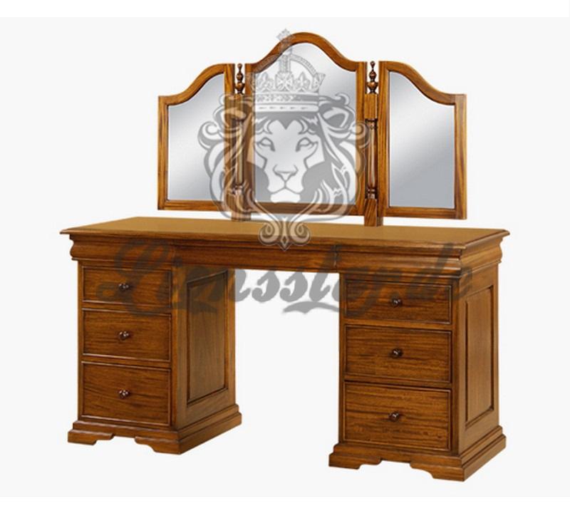 Spiegelkommode Barock Mahagoni Holz Sk.197