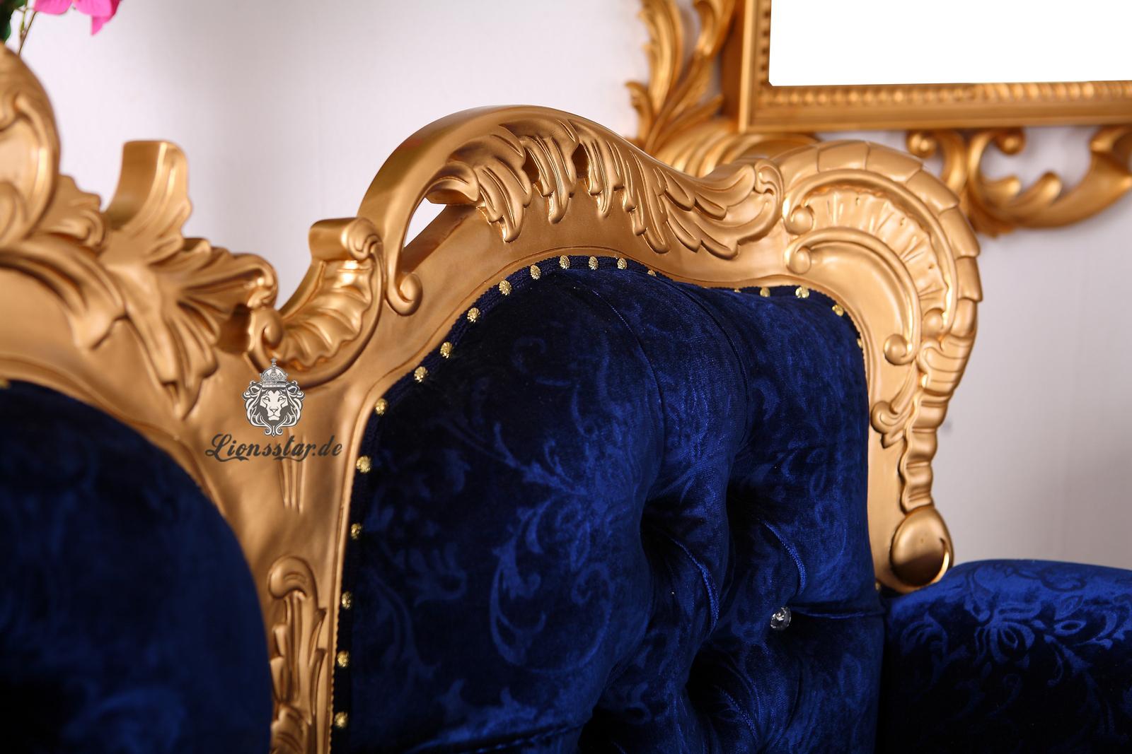 Barock Sofa Gold