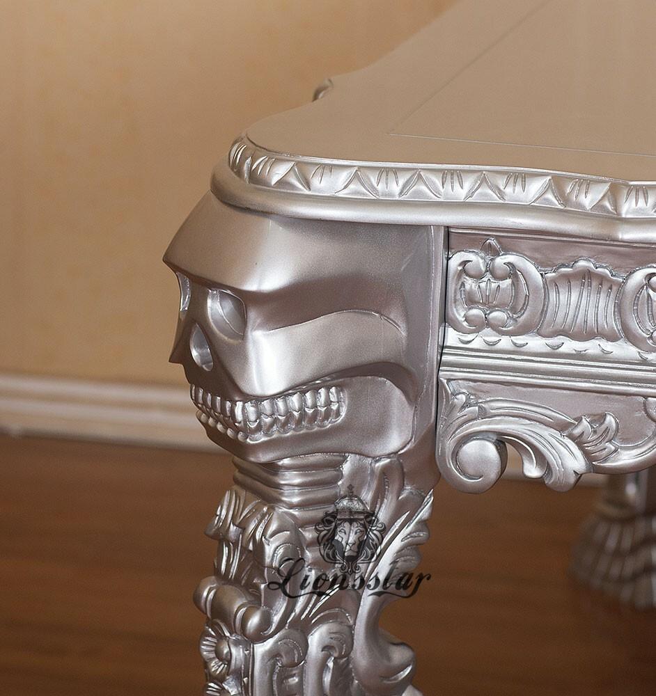 Rokoko Esstisch Skull