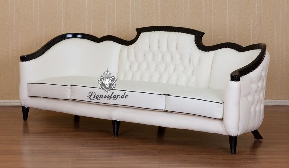 Sofa Shabby-Weiß