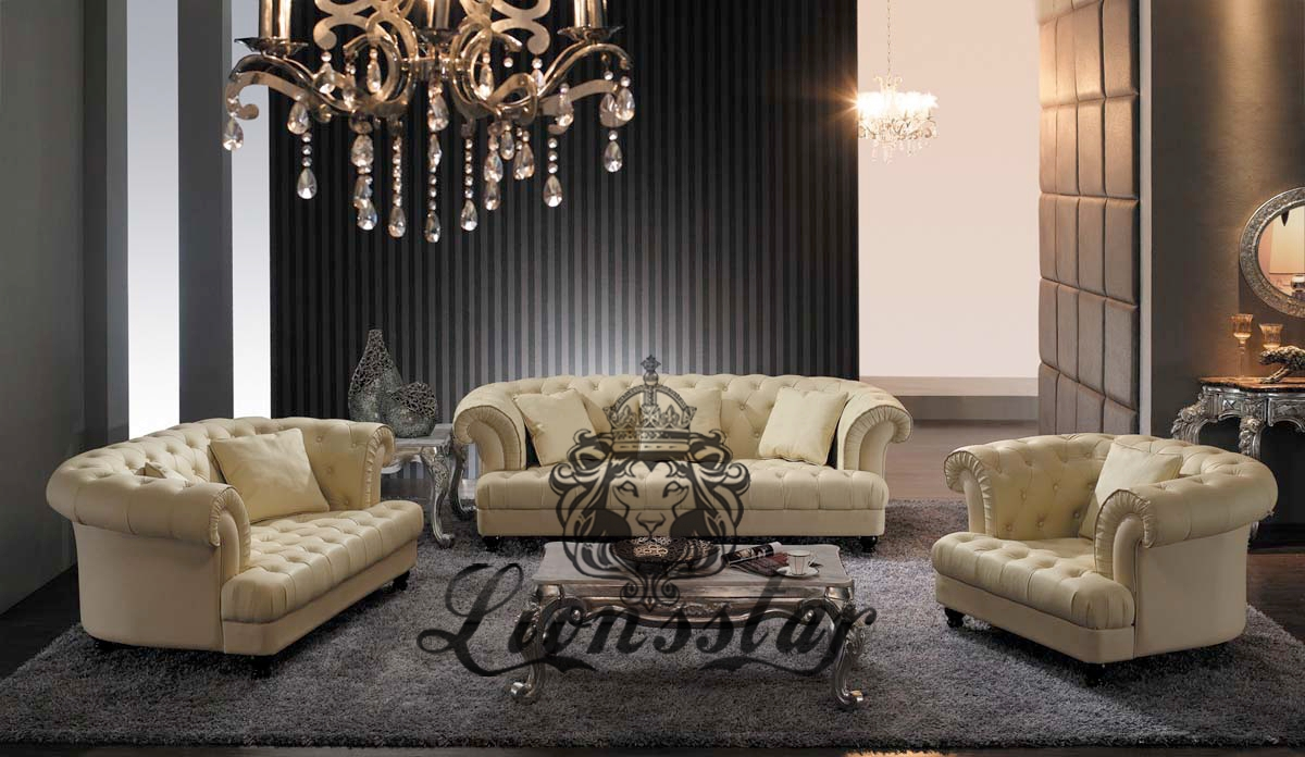 Luxuriöses Designer Ledersofa