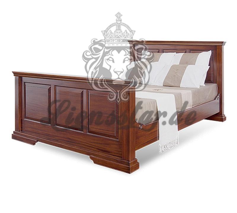 Empire Bett Design Massiv