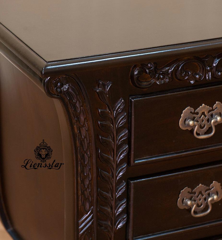 Nachttisch Mahagoni Klassik Barock