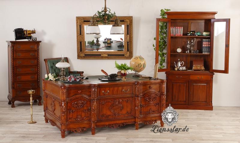 Schreibtisch Barockstil