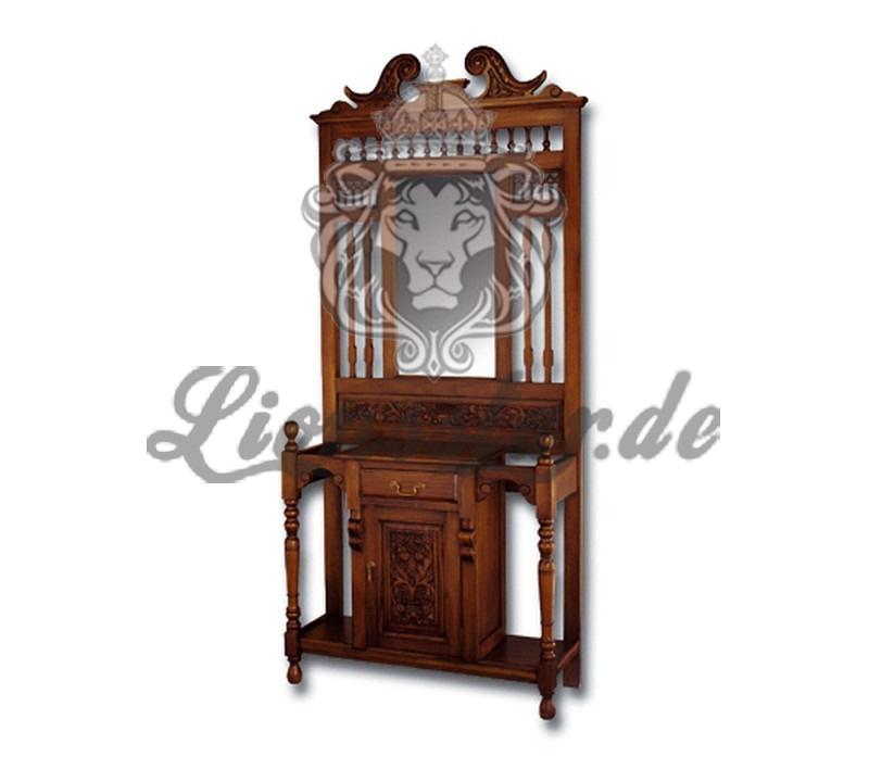 Spiegelkommode Barock Mahagoni Holz Sk.187