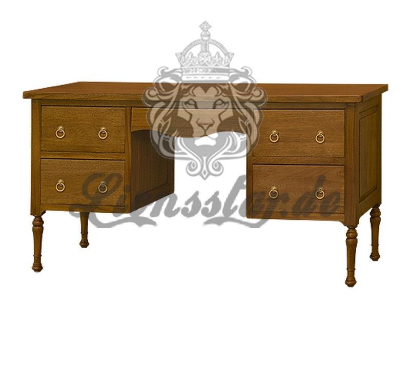 Kolonialstil Schreibtisch Venezia