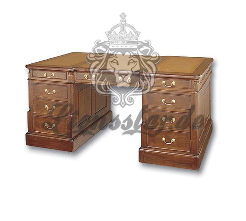 Empire Schreibtisch Hellbraun