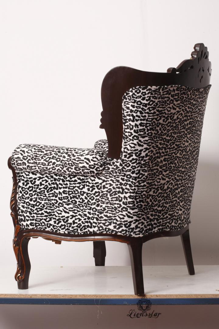 Thronstuhl Leopard