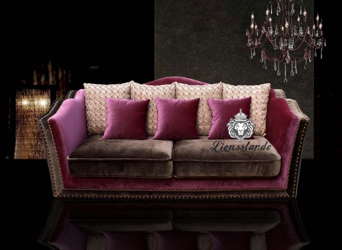Wohnzimmer Couch Set Klassik