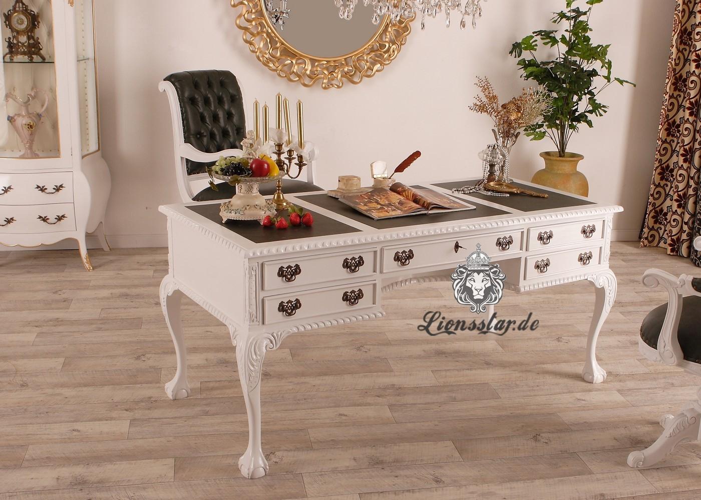 Luxus Schreibtisch Weiß
