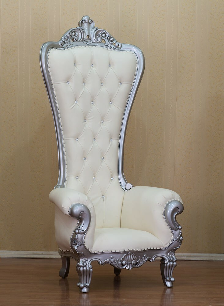 King Chair White Edition