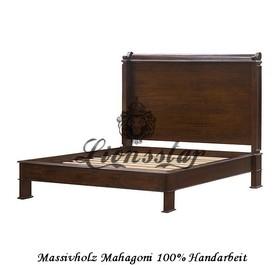 Mahagoniholz Empire Bett