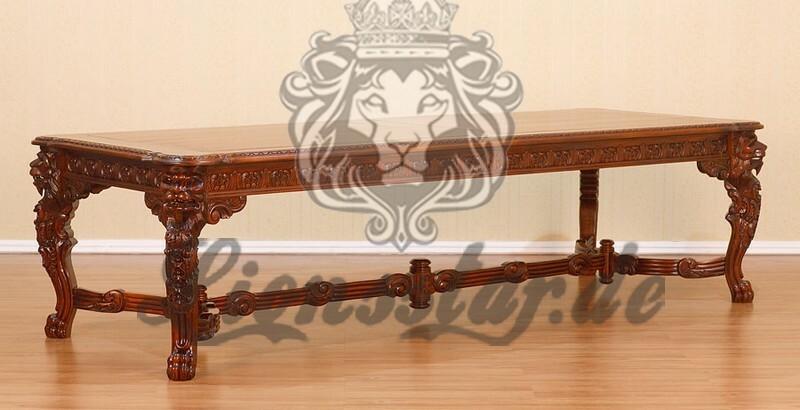 Antik Esstisch Löwe