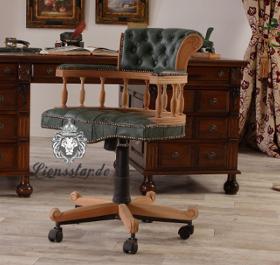 Bürostuhl aus Naturholz