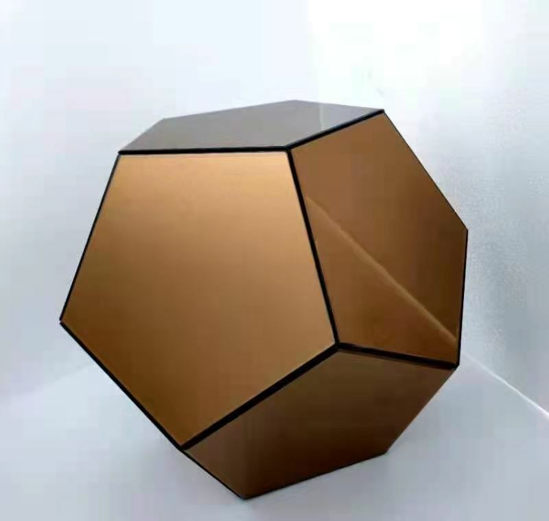 Designer Beistelltisch Dodekaeder