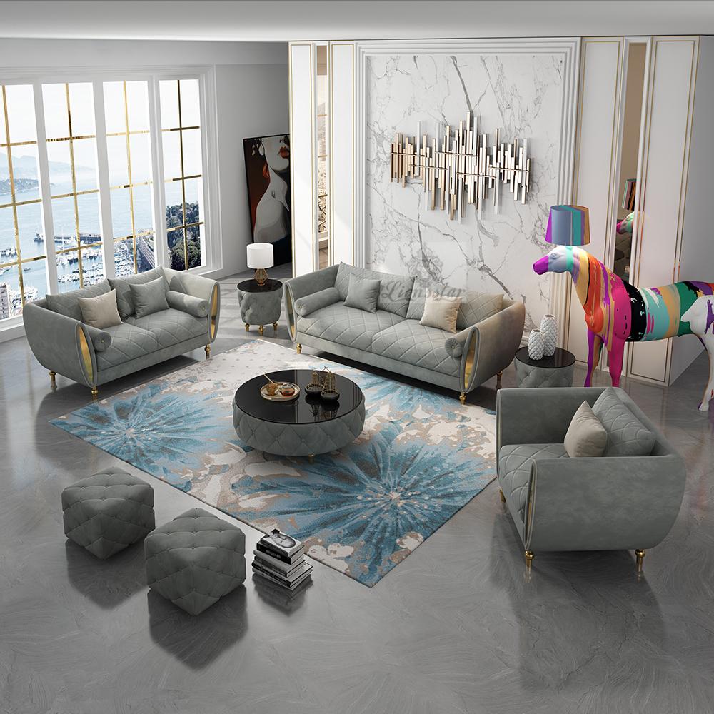 Luxus Design Sofa Set Manhattan