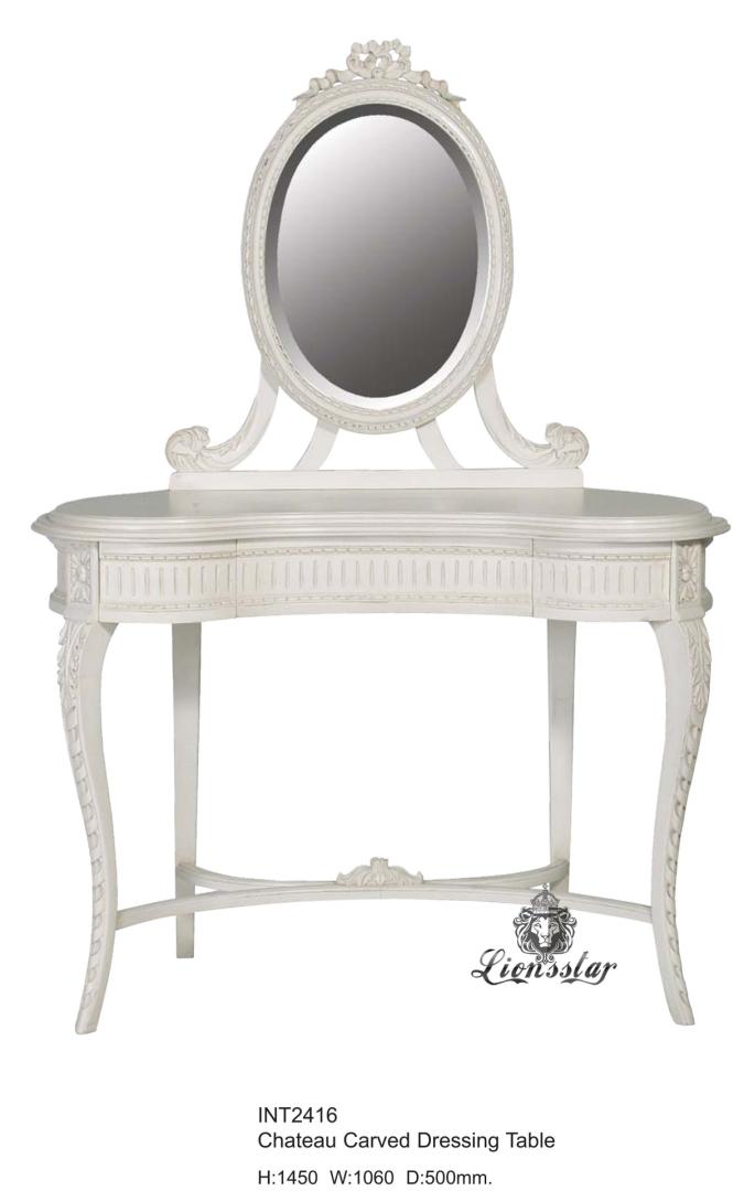 Spiegelkommode Barock Mahagoni Holz Sk.161