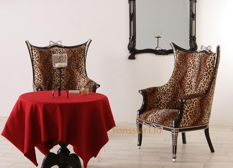 Luxus Stuhl Exquisit Louis Mahagoni Leo
