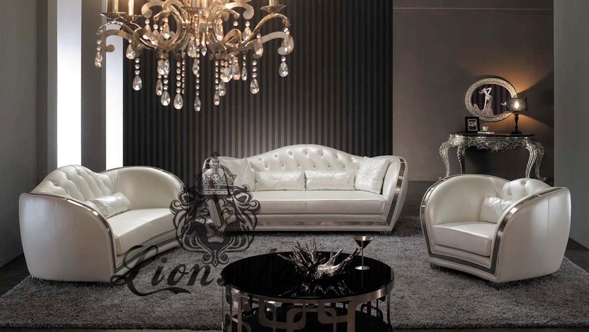 Designer Sofa in Weiß