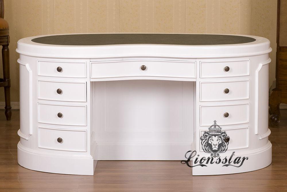 Antik Schreibtisch White