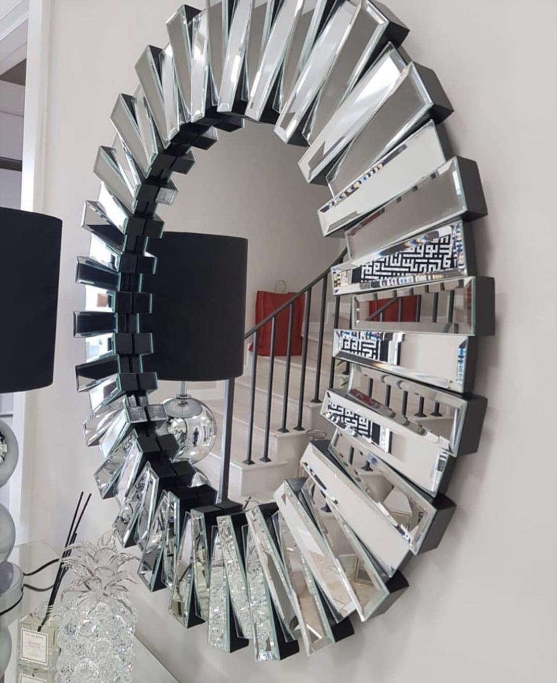 Designer Wandspiegel Facette Illusion