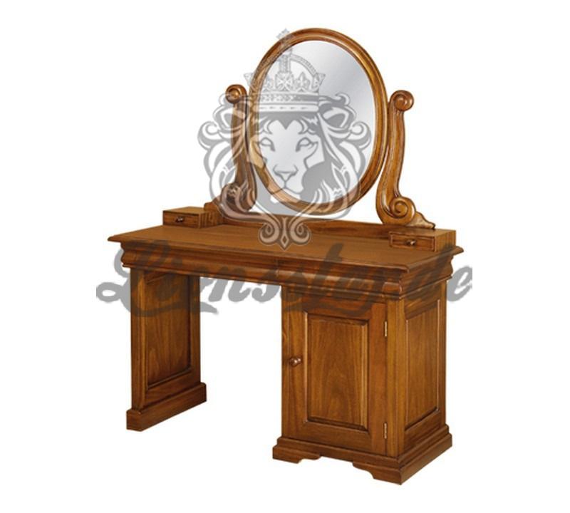 Spiegelkommode Barock Mahagoni Holz Sk.194