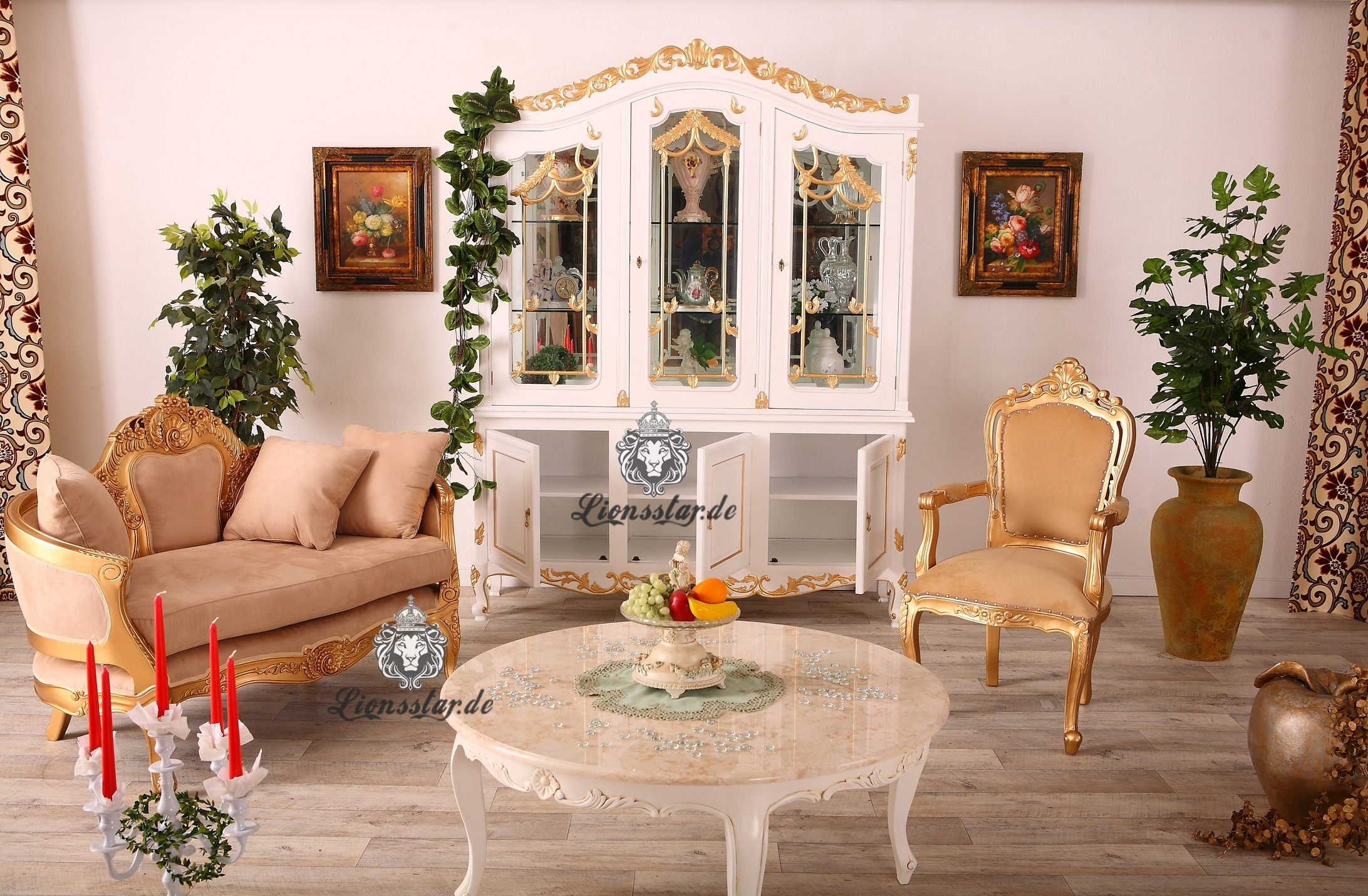 barock sofas luxus genie en lionsstar gmbh. Black Bedroom Furniture Sets. Home Design Ideas